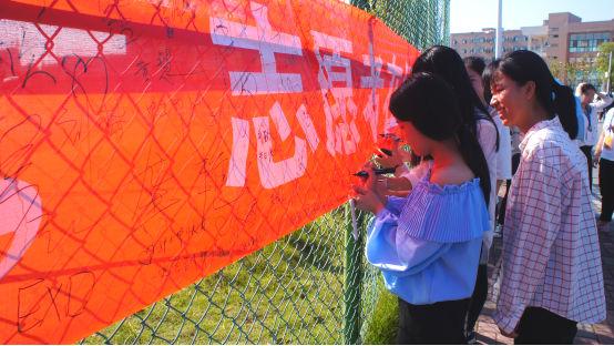 庆祝5.12护士节,志愿者在行动