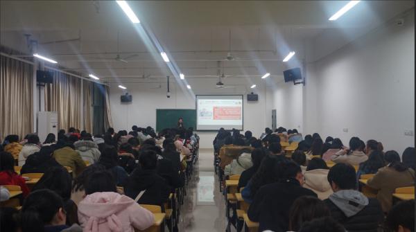 药学系业余团校之学生干部培训班第三次理论课顺利开展